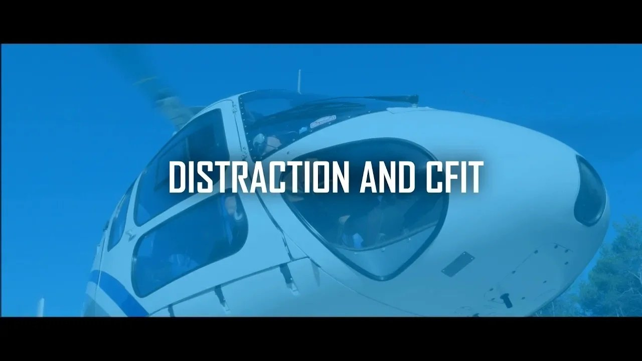 Distraction and Controlled Flight into Terrain (EASA)